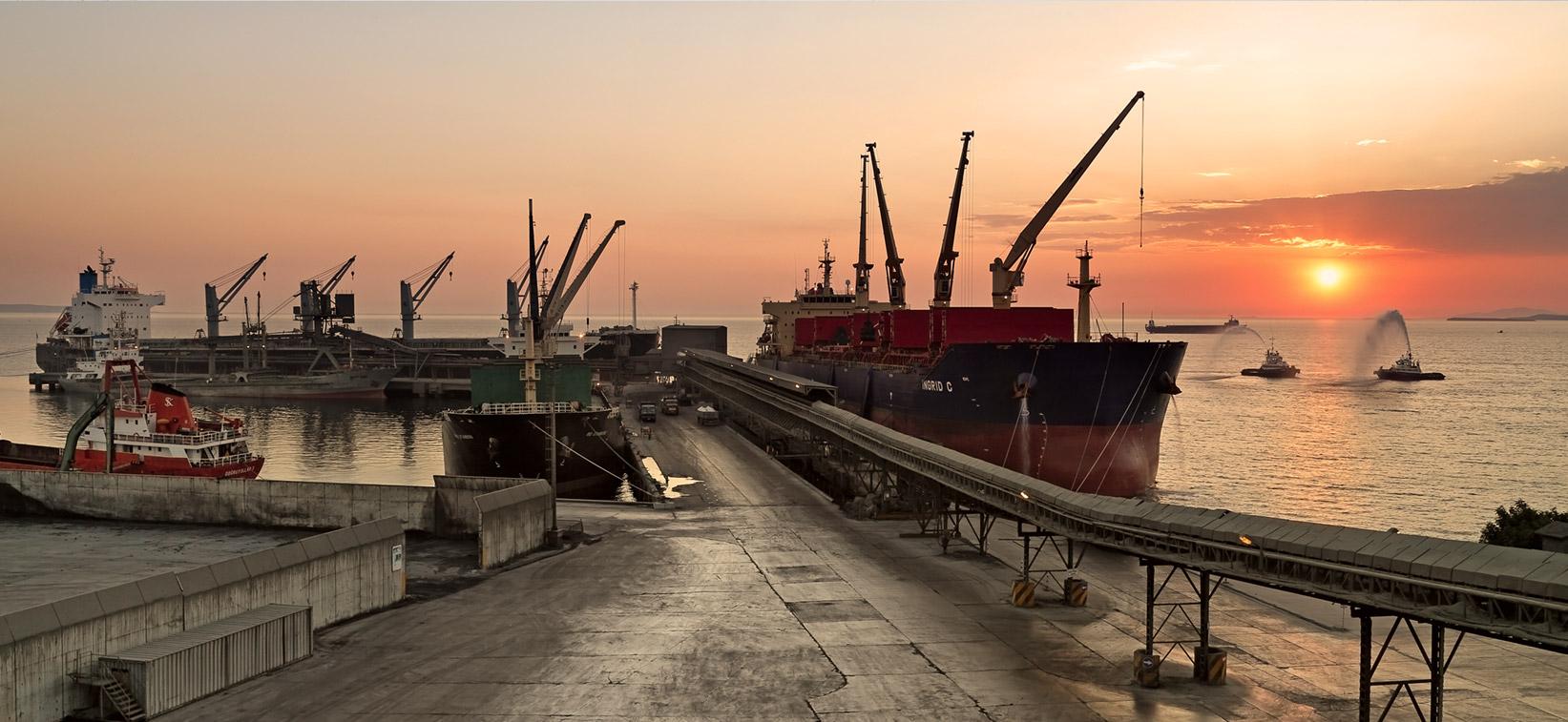 Akçansa ve liman hizlemtleri, akcansa ihracat, çimento ihracatı, Akçansaport
