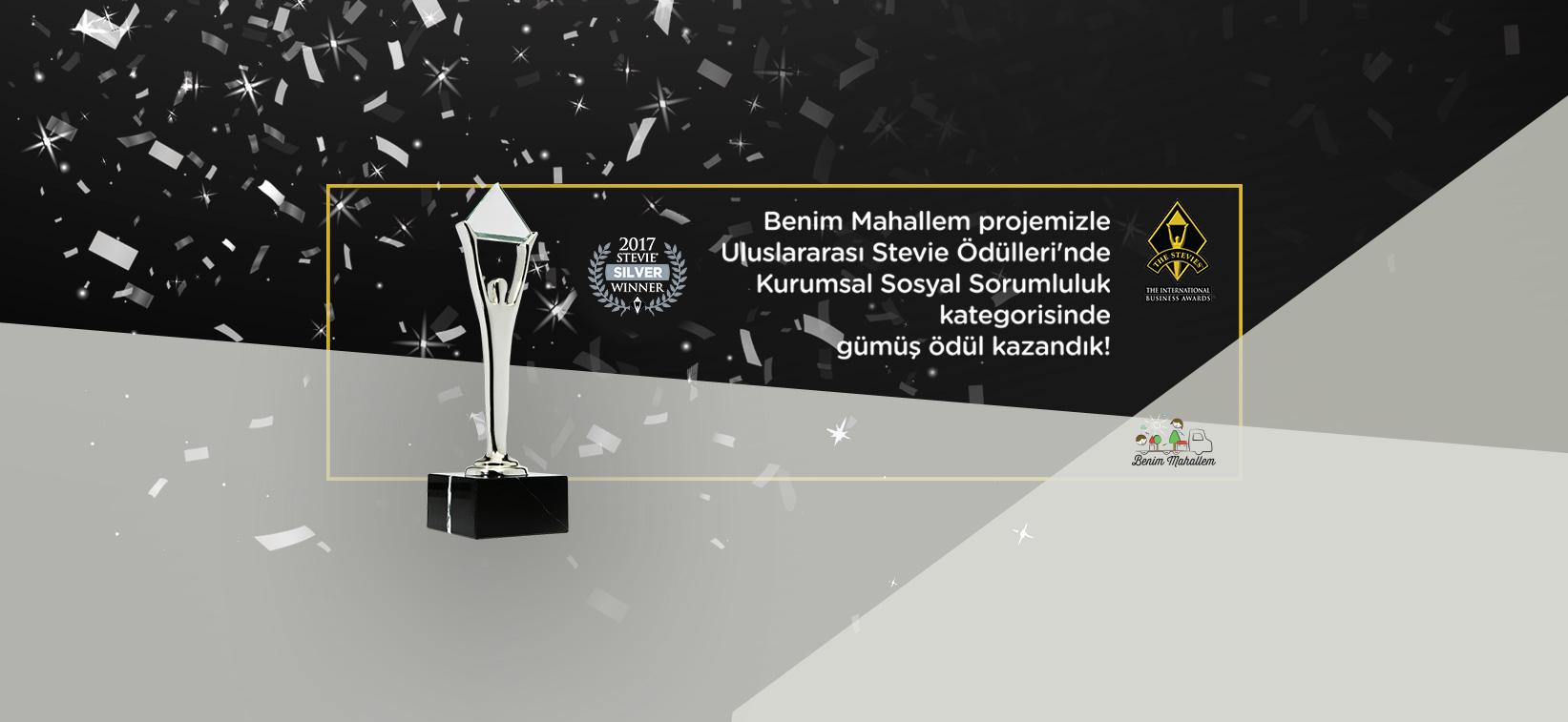 Akçansa Benim Mahallem Stevie Ödülü, kurumsal sosyal sorumluluk ödülü